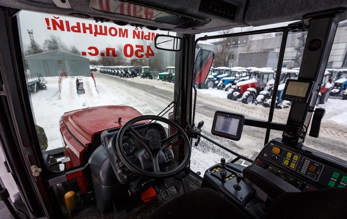 Устройство кабины Беларус – 4522