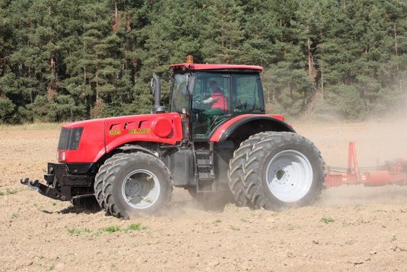 Использование трактора Беларус – 4522