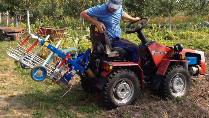 Использование МТЗ 082 в сельском хозяйстве