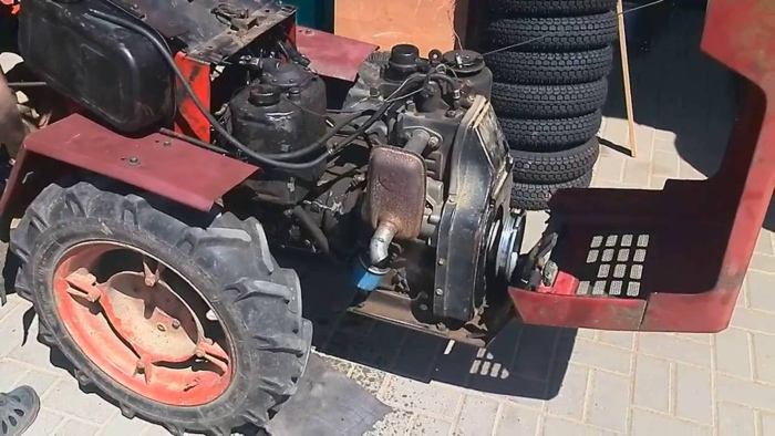 Устройство двигателя МТЗ 082