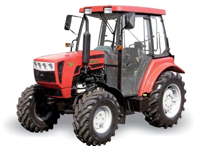 Внешний вид трактора МТЗ 622