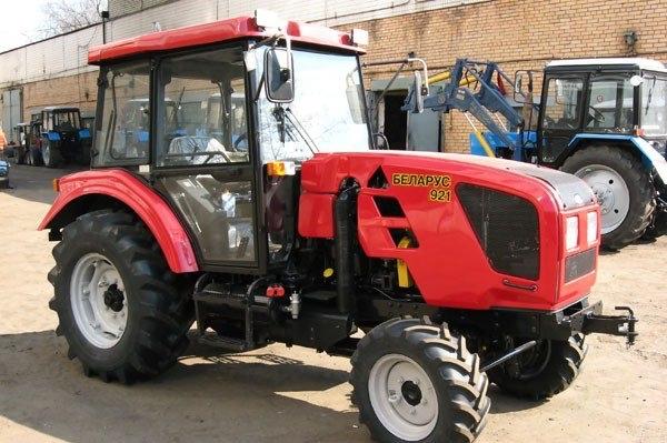 Характеристики трактора МТЗ 921