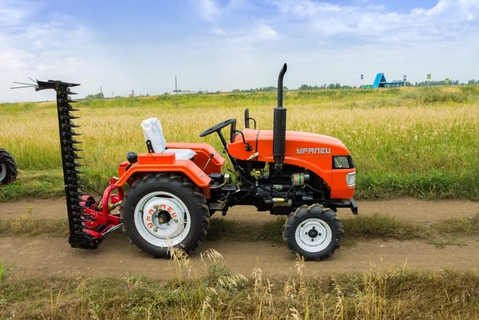 Уралец- 220 в сельском хозяйстве