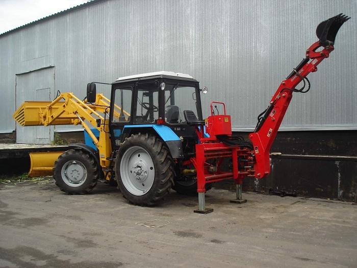 Навесное обурудование для трактора мтз 82
