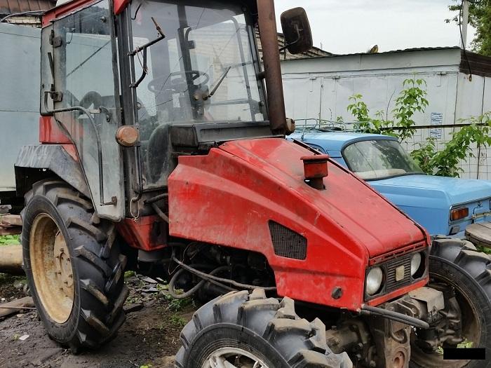 Кабина трактора