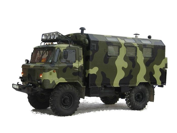 Военный Газ 66