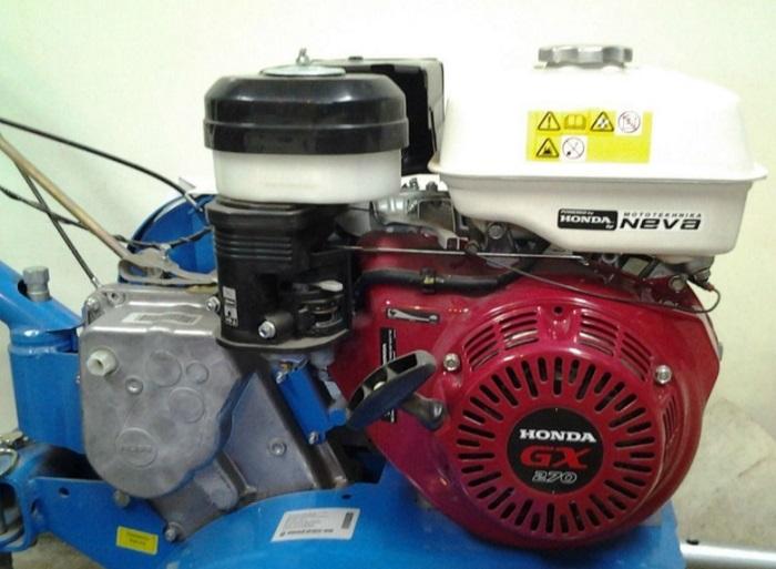 Двигатель мотоблока Нева МБ 23