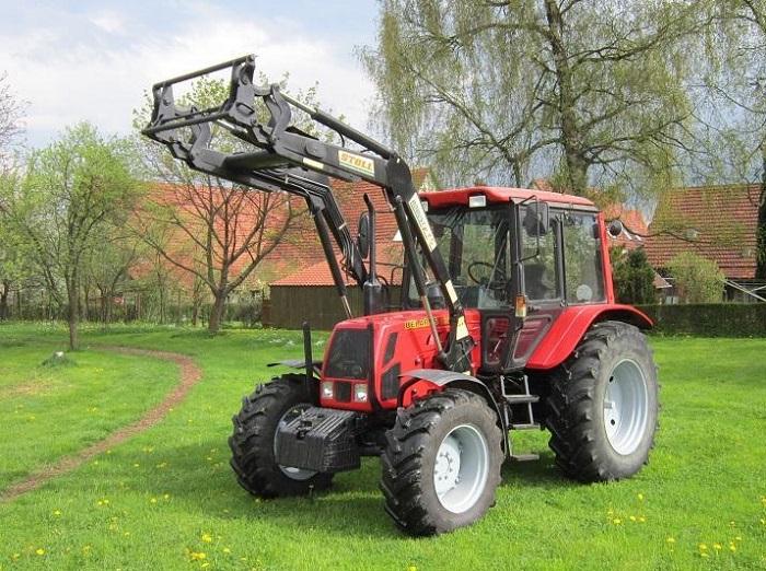 Трактор МТЗ 920 с навесным оборудованием