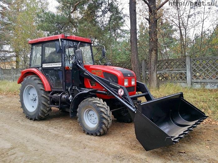 МТЗ 921 с навесным оборудованием