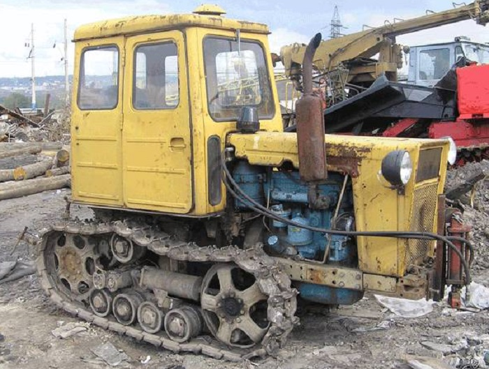 Трактор Т 54 Болгар