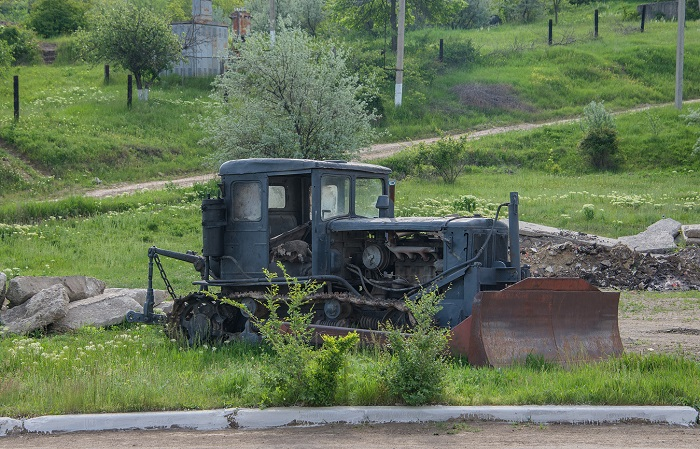 остов трактора Т 74
