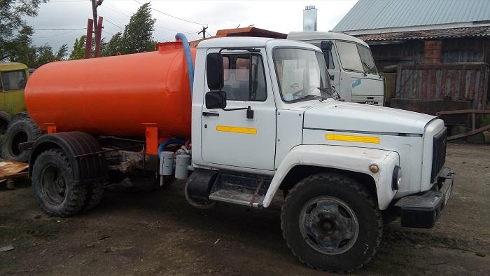 ГАЗ 3307 с цистерной