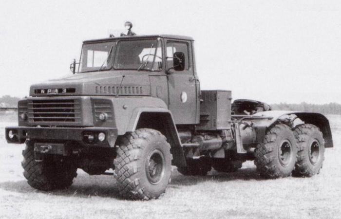 История КРАЗ 260, КРАЗ-6322 и КРАЗ 256Б