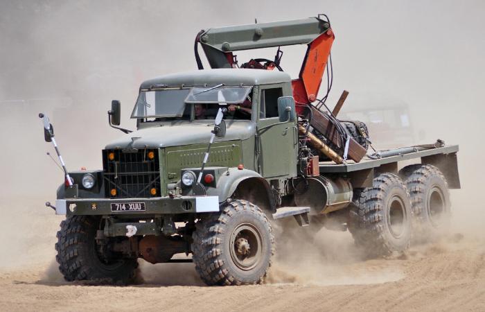 Технические характеристики КРАЗ 255