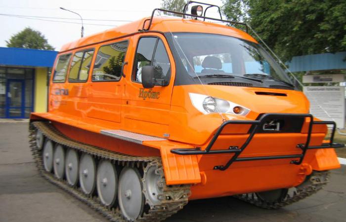 Вездеходы ГАЗ в Сибири