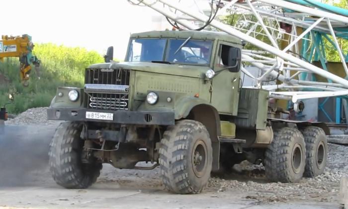 Модели грузовика КрАЗ-255В