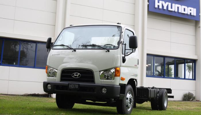 технические характеристики Hyundai HD 78
