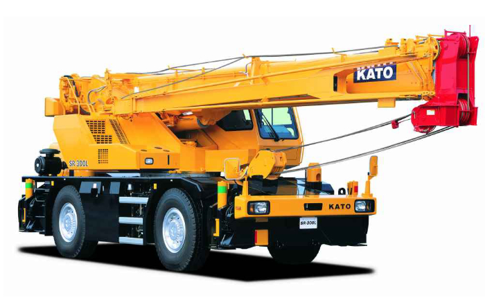 Кран Като SR250R, технические характеристики и двигатель