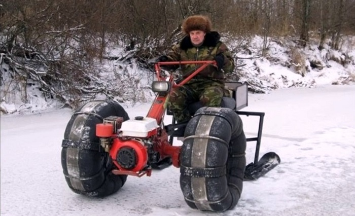 Зимний вариант вездехода