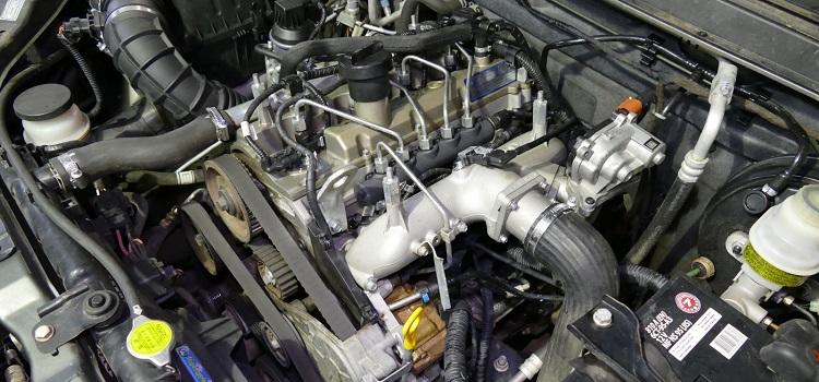 Мотор в машине