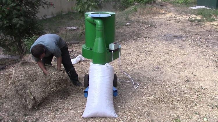 Измельчитель сена соломы своими руками чертежи