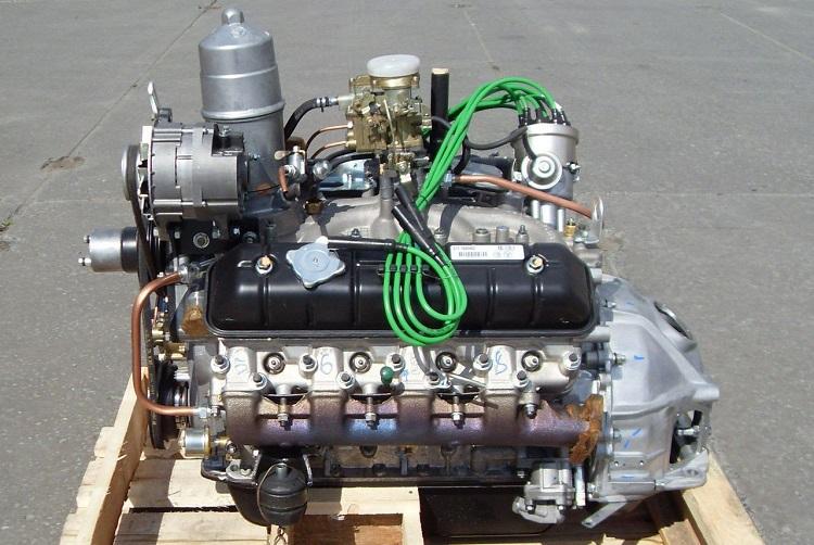 Образец двигателя на ГАЗ
