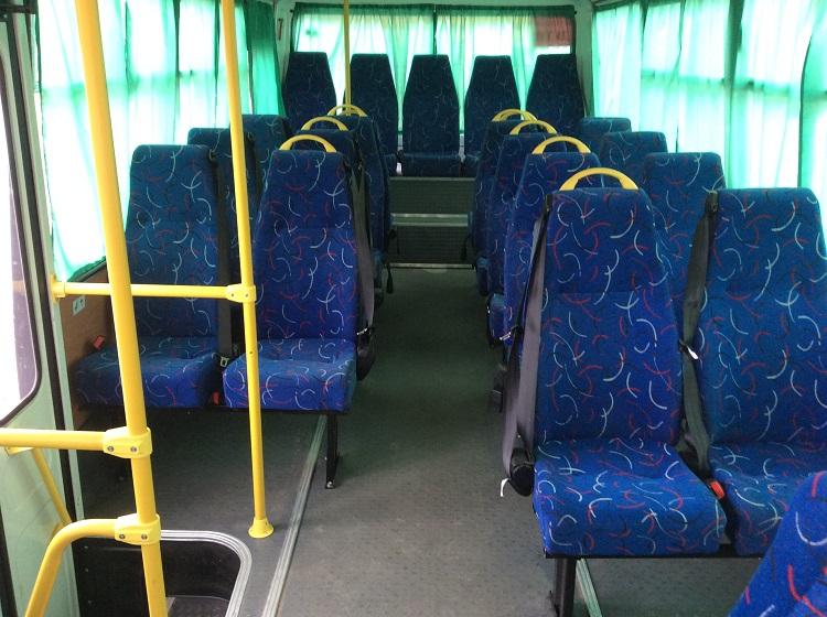 Автобус изнутри