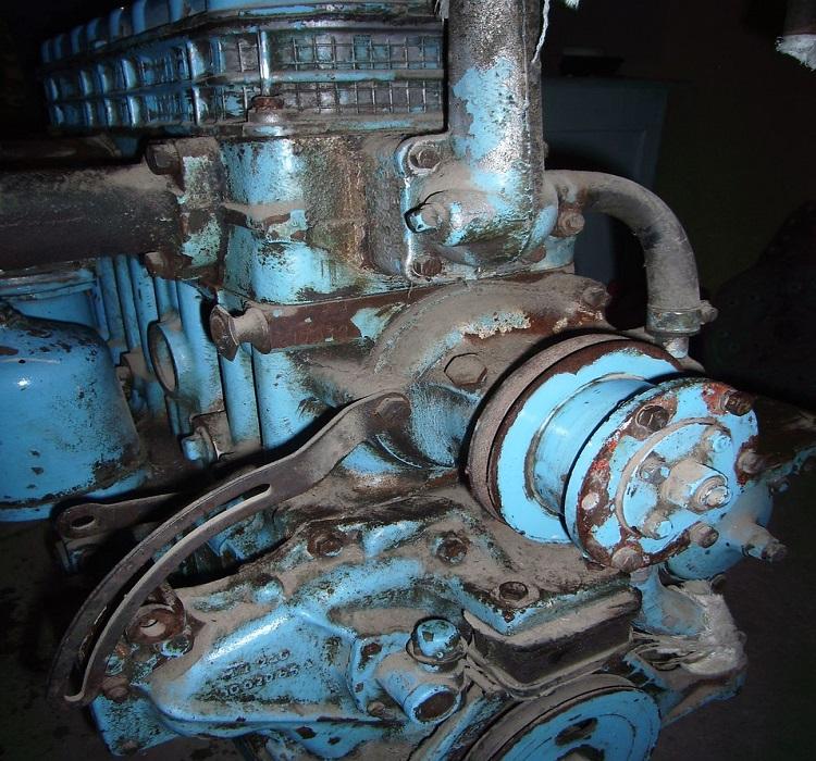 Мотор на трактор
