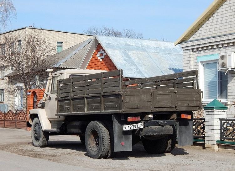 Борт грузовика ГАЗ