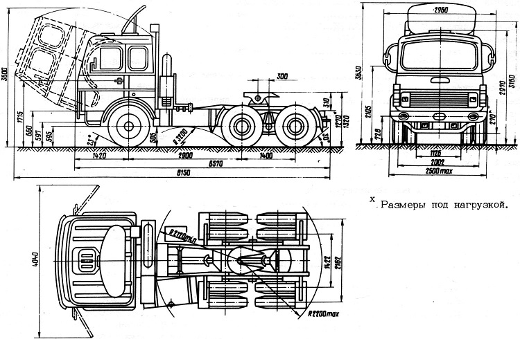 Схема автомобиля