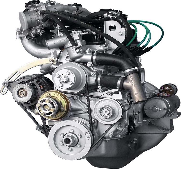 Модель двигателя