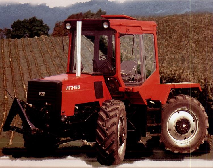 Трактор липецкого завода