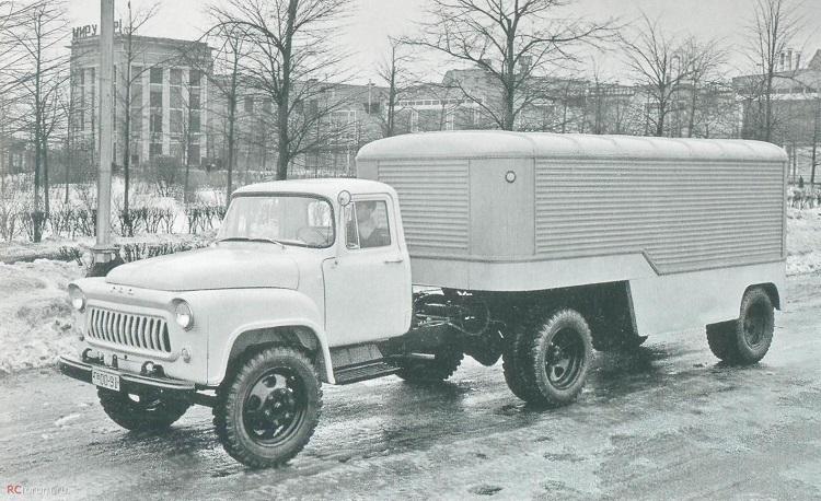Модификация ГАЗ 52