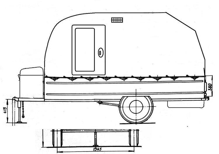 Схема прицепа
