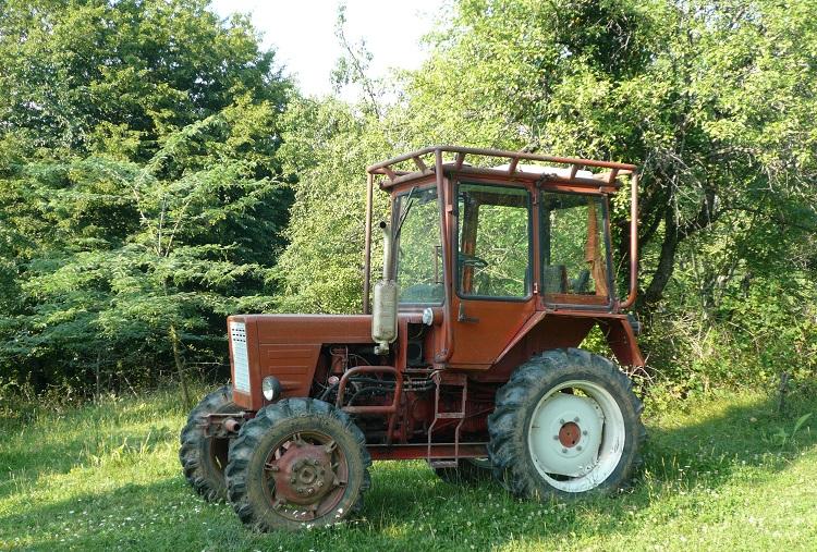 Трактор с пробегом