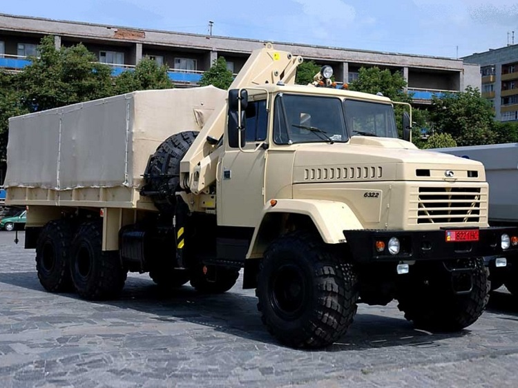 Модель грузовика КрАЗ