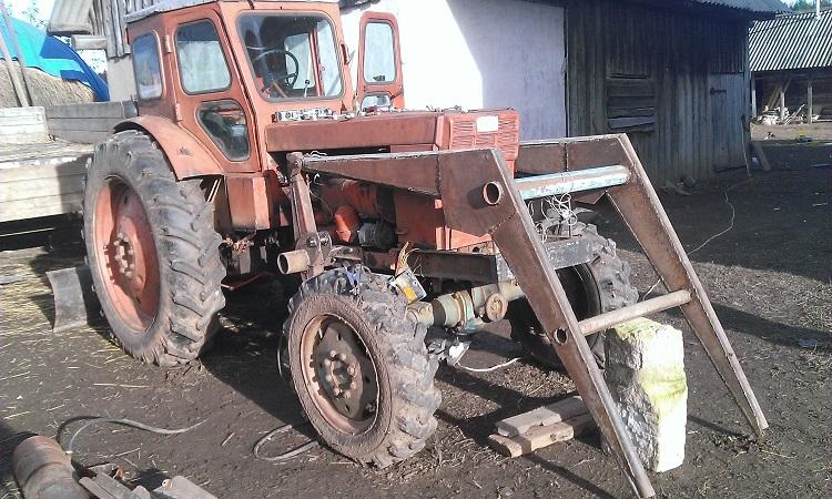 Кун на трактор